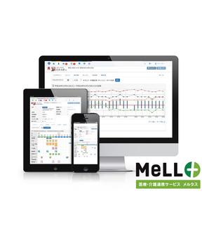 医療・介護連携サービス MeLL+