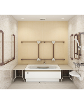 KGSシリーズ[高齢者住宅・施設向け]横置き浴槽タイプ